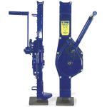 mechanical and hydraulically jacks
