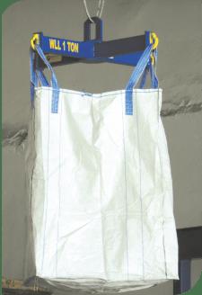 Big Bags Lifting Beam with big bag on