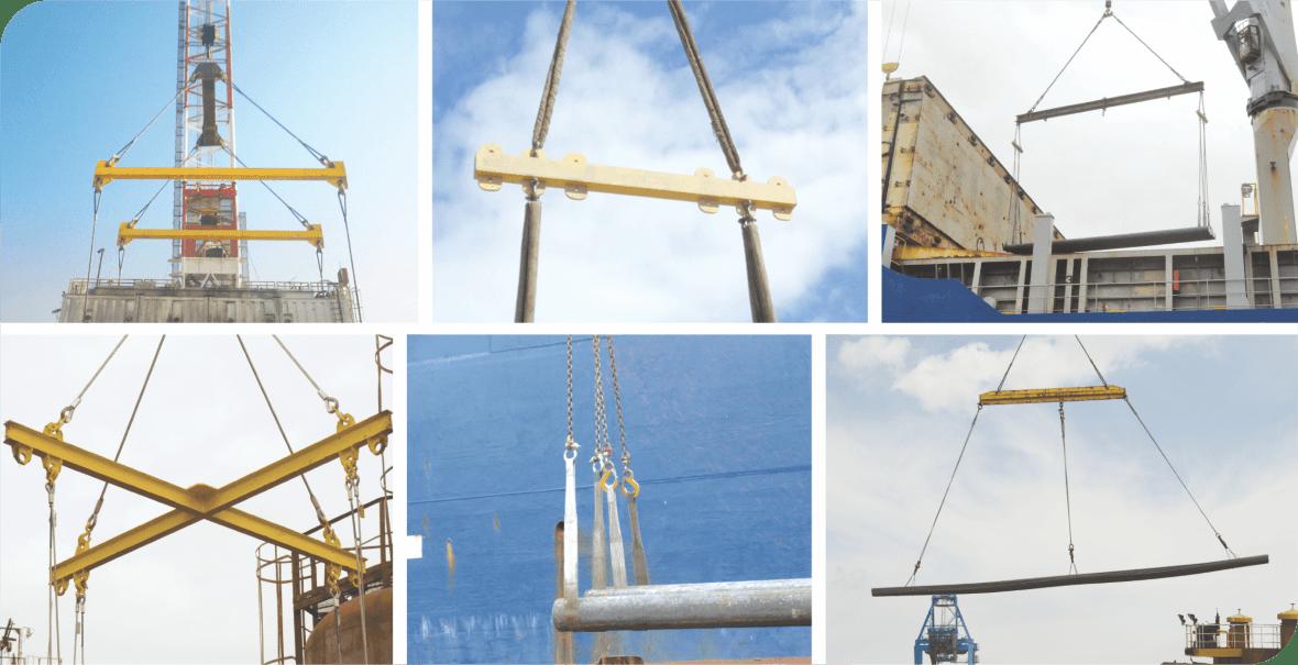 various lifting beams