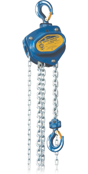 manual hoist with chain
