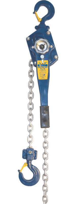 chain hand hoist with lever