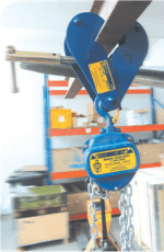 beam clamp example of use
