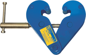 hoist clamp for I or H beam profile