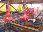 example of use for pneumatic chain hoist