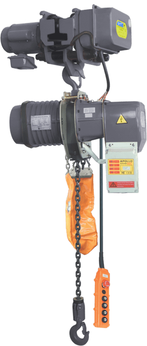 electric hoist with electric trolley