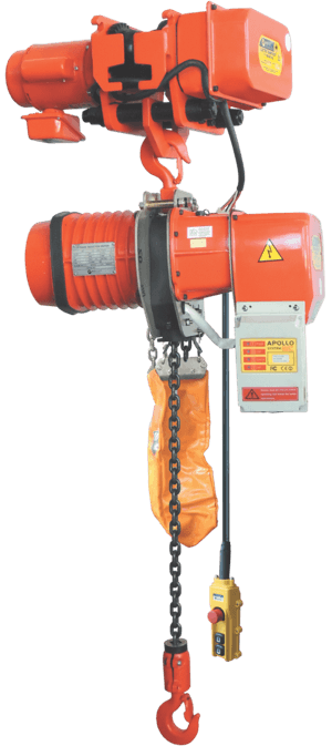 single phase electric hoist with electric trolley