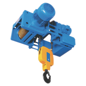 three-phase electric wire rope hoist with electric trolley