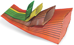 textile wrap for round slings