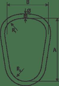 drawing of crane master link