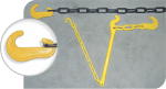 components of a Lashing Chain Assembly