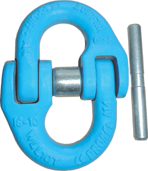 grade 100 steel alloy connecting link for chain