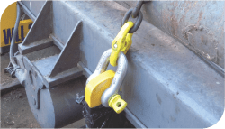how to use a dee shackle with screw