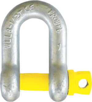 Dee - D or Chain - Shackle with Screw