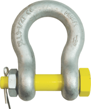 Bow - Anchor or Omega - Shackle with Nut and Bolt
