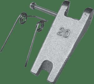 safety latch for clevis hook PRO-KSL