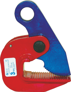horizontal clamp for steel sheet
