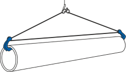 how to use a horizontal pipe clamp