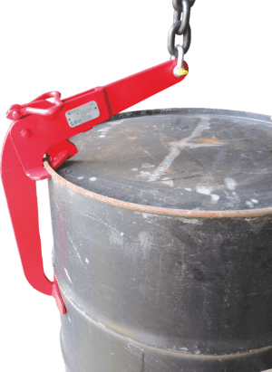 how to use a Clamp for Barrels Lifting