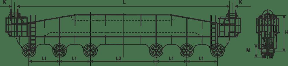 drawing of a lifting row